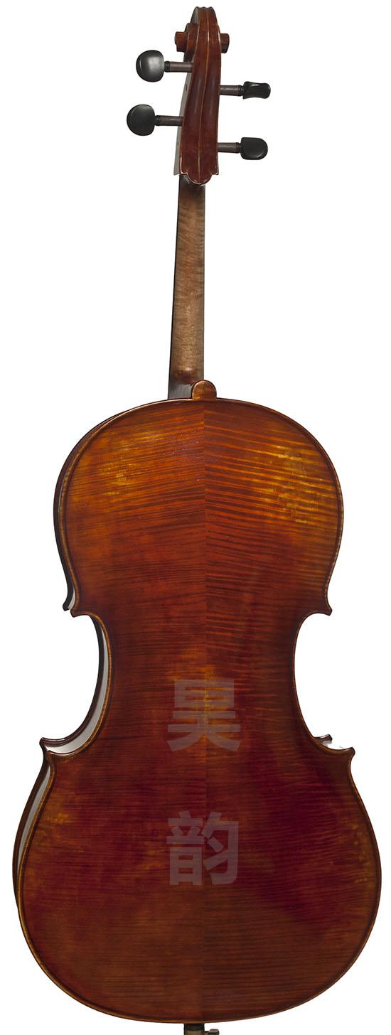 仿古欧料手工大提琴