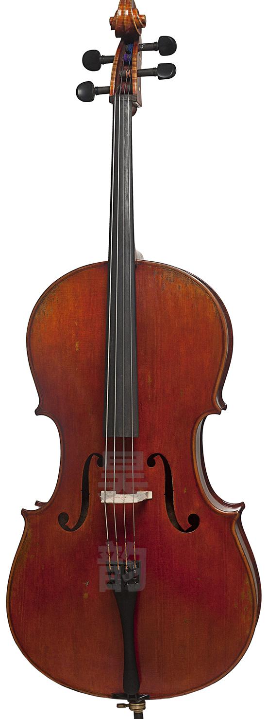 虎皮纹仿古大提琴