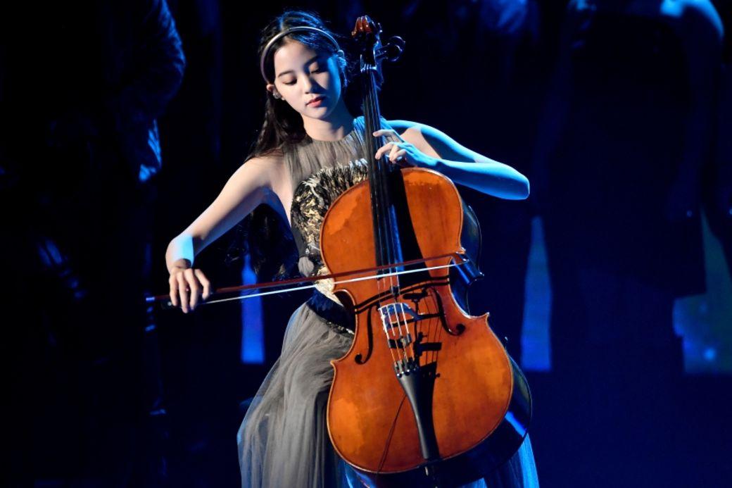 年纪最小的大提琴独奏家-欧阳娜娜