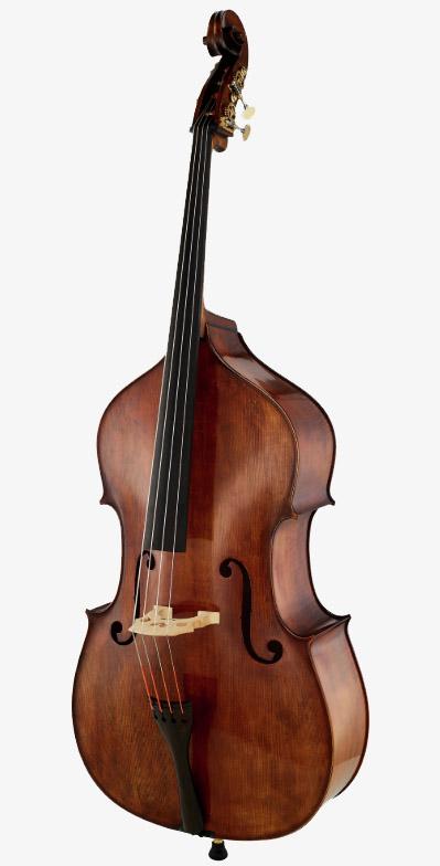 深色古典低音提琴面板