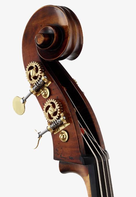 深色低音提琴