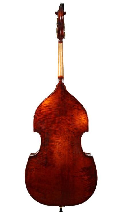 深色仿古低音提琴
