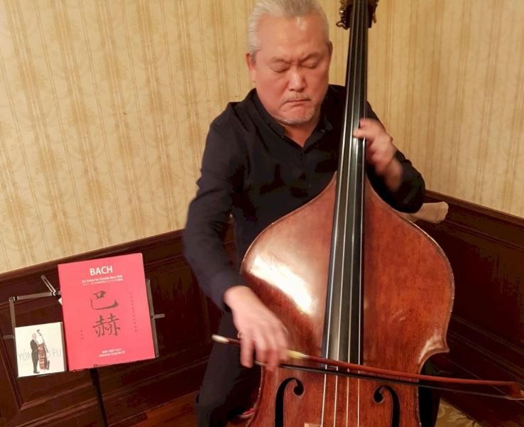 让低音提琴爱上巴赫音乐傅永和做到了