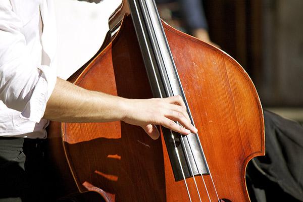 学习在低音上弹奏爵士乐和竖拍的提示
