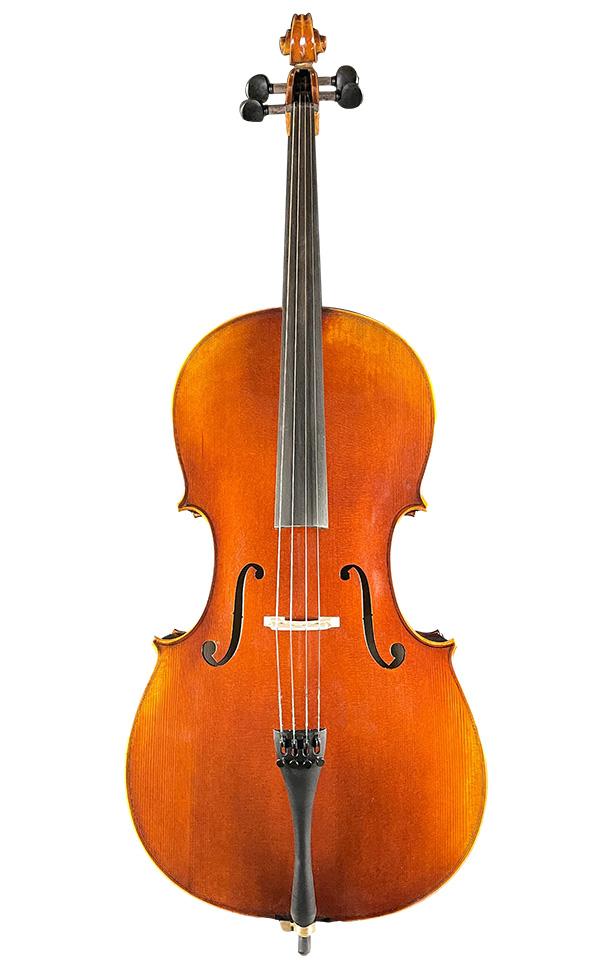 4/4大虎纹仿古大提琴