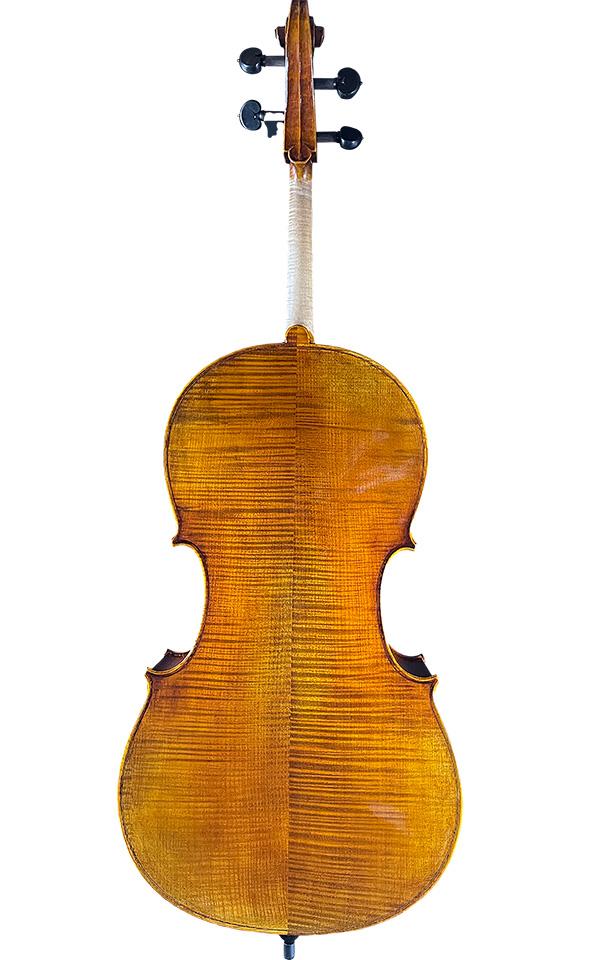 仿古手工大提琴