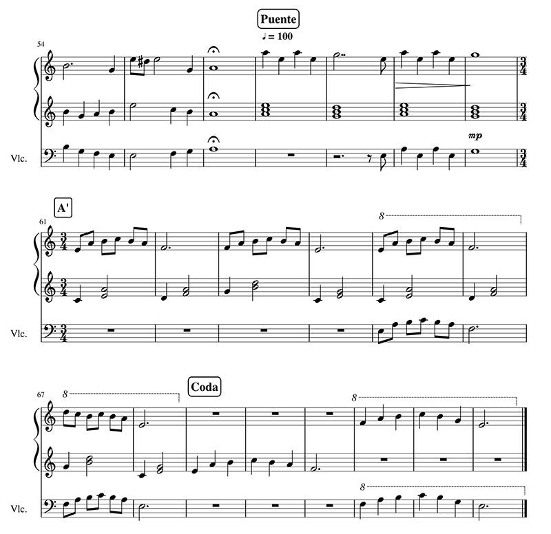 爱乐之城大提琴谱