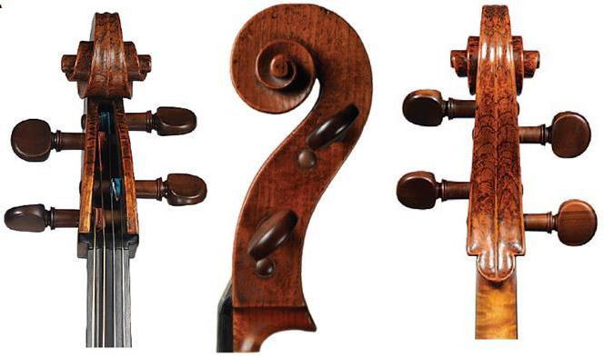 阿马蒂1622大提琴琴头