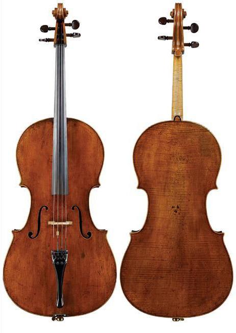 乔瓦尼·弗朗切斯科·塞洛尼亚托1737 大提琴