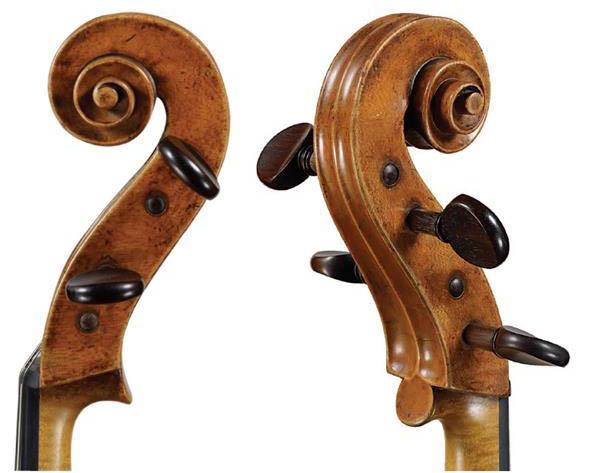 塞洛尼亚托1737 大提琴琴头