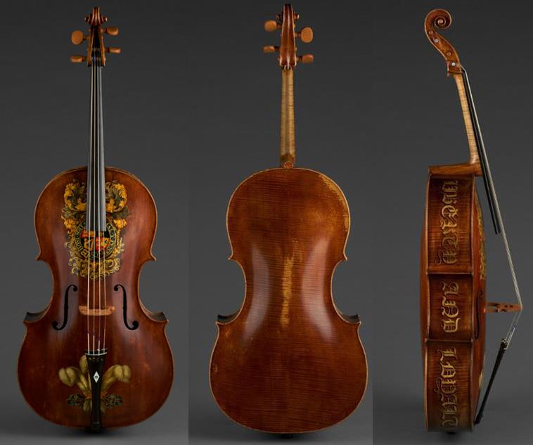 威廉·福斯特二世的 1782 年大提琴