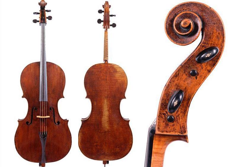 安德里亚·瓜奈里的 1626 年大提琴