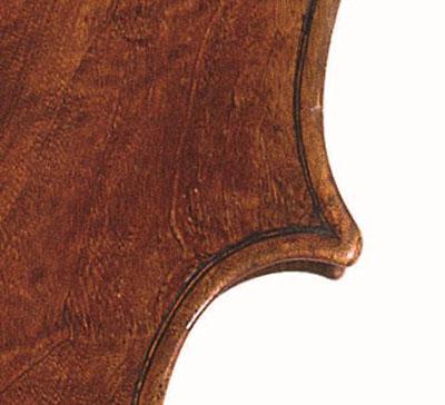 1817年大提琴的一角