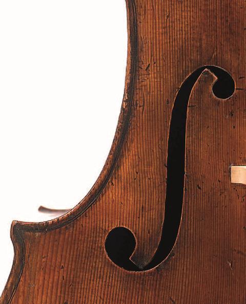 乔瓦尼·格兰奇诺1693大提琴音孔
