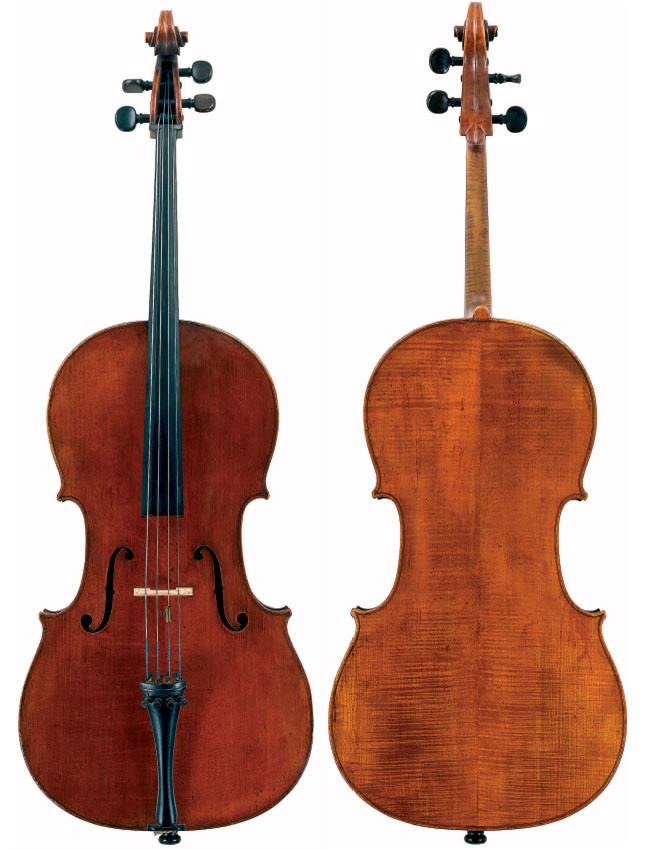 雅克·皮埃尔·米歇洛 1786 年大提琴