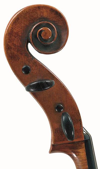 雅克·皮埃尔·米歇洛 大提琴琴头