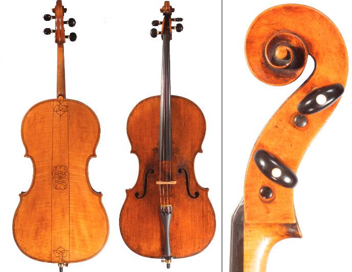 巴拉克·诺曼 (Barak Norman) 1704 年大提琴