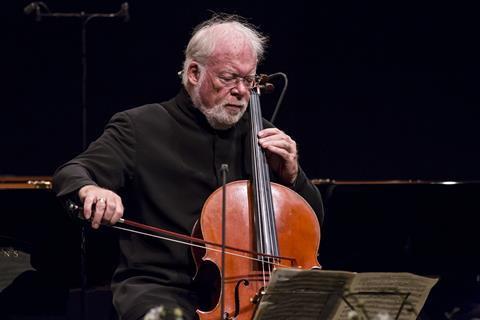 大提琴家林恩・哈瑞尔