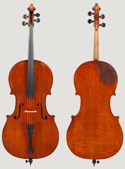 名琴欣赏:尼古拉斯·卢波特大提琴 1823