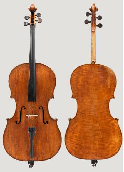 乔瓦尼·巴蒂斯塔·罗杰里大提琴 1695