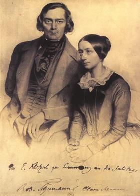 罗伯特和克拉拉舒曼