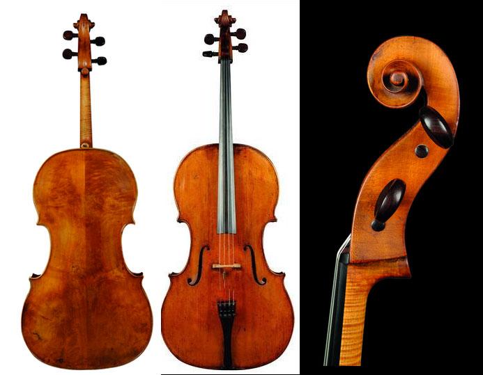 欣赏:制琴师安东尼奥·格拉尼亚尼1770 年的大提琴