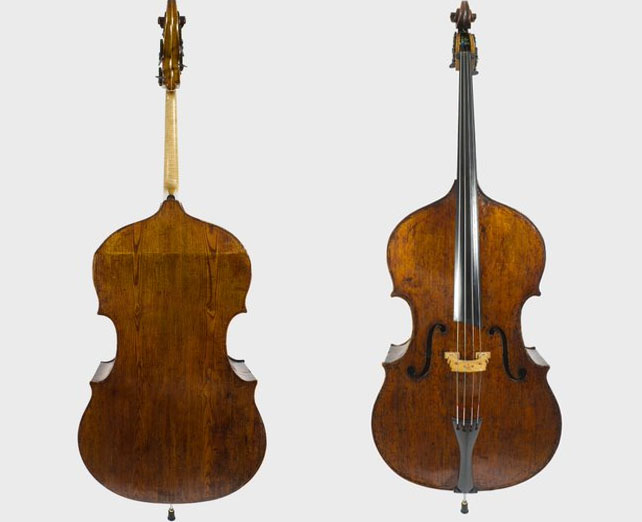 吉罗拉莫·阿马蒂二世c.1680 低音提琴