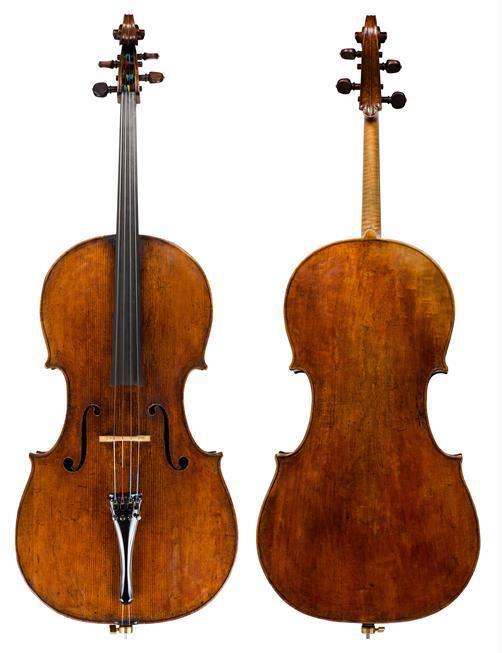"""斯特拉迪瓦里1707""""Fau, Castelbarco""""大提琴"""