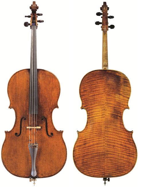 彼得罗·贾科莫·罗格里1717 年大提琴