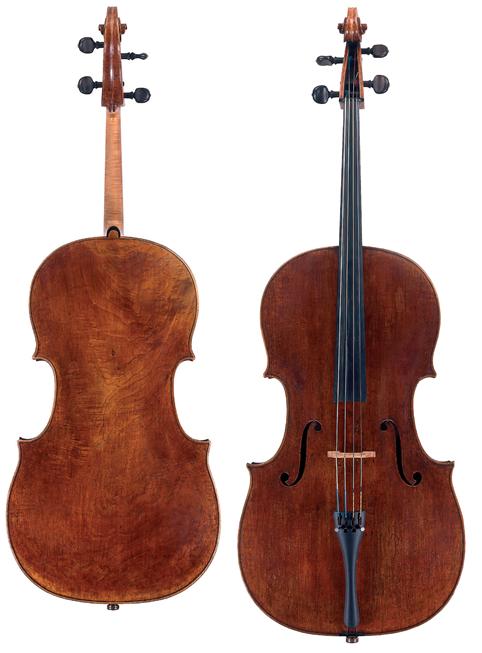 乔瓦尼·格兰奇诺1693 年大提琴