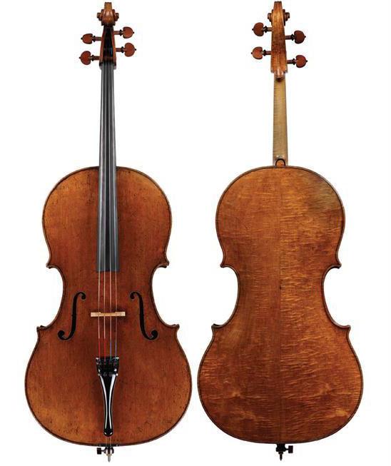 Michele Platner 的 1720 大提琴