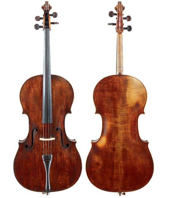 巴勃罗·卡萨尔斯的1733 年Goffriller大提琴