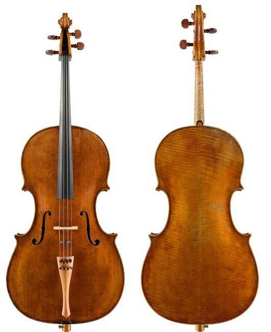 """大卫·特克勒1706 """"Brott-Turner/Schumacher""""大提琴"""