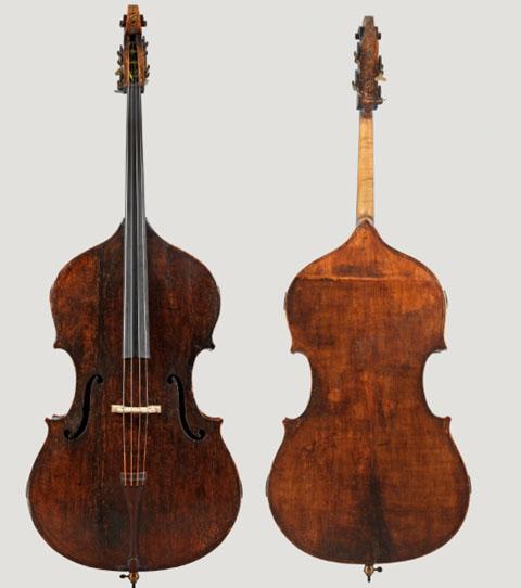 Gasparo da Salo 低音提琴 c.1580