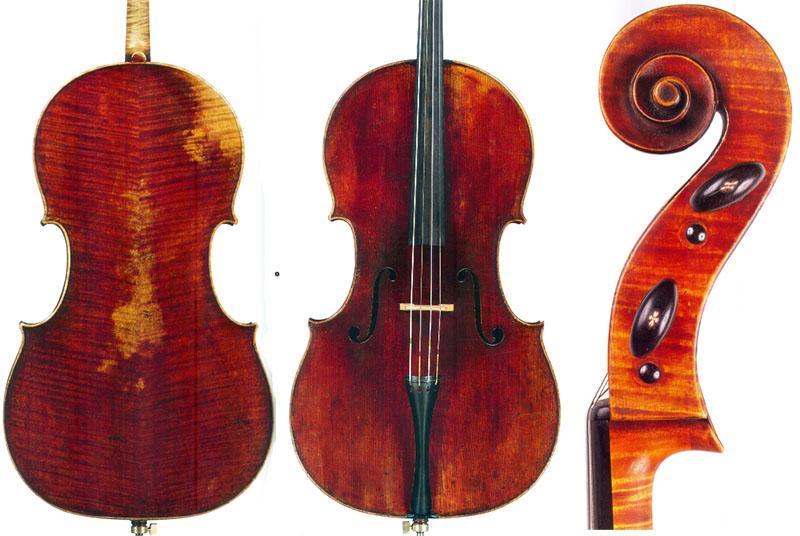 """名琴赏析:安东尼奥·斯特拉迪瓦里1700 """"Stauffer""""大提琴"""