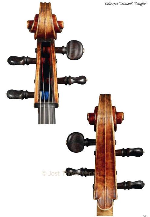 """斯特拉迪瓦里1700 """"Stauffer""""大提琴"""
