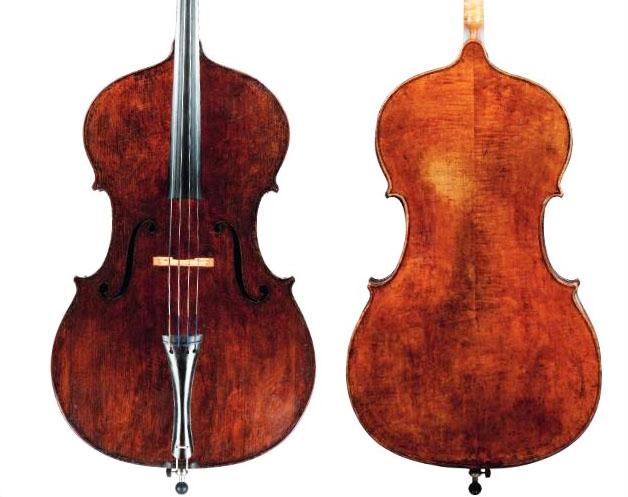 乔治·克拉斯克 c.1850低音提琴