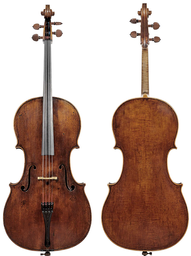 """斯特拉迪瓦里大提琴""""Bonnet,""""1693年"""