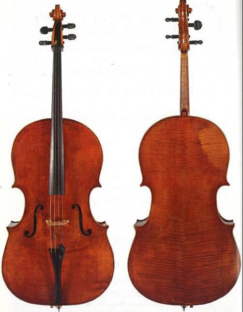 1739多梅尼科·蒙塔尼亚纳大提琴
