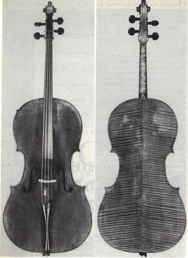 """""""杜波特""""斯特拉迪瓦里大提琴"""