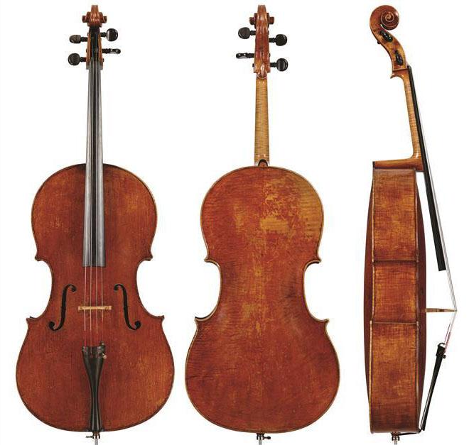 朱塞佩·瓜内里 'filius Andreae' 大提琴,c.1710