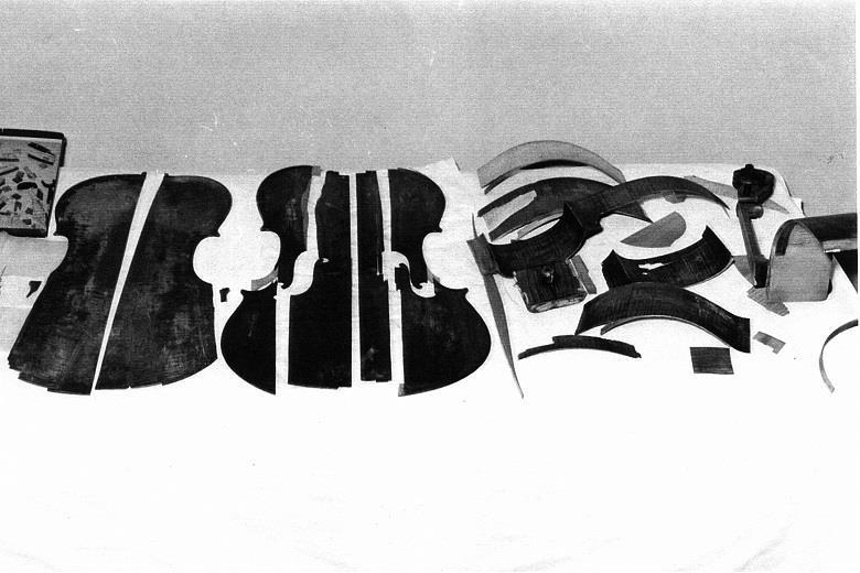 """1963年""""玛拉""""号被送到希尔作坊进行修复时的样子"""
