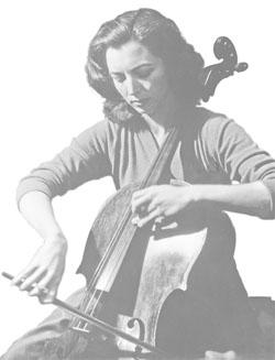 Amaryllis Fleming和大提琴