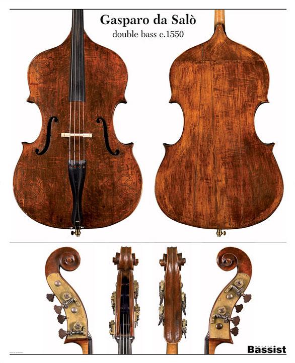 多梅尼科·德拉格内蒂Gasparo da Salò低音提琴