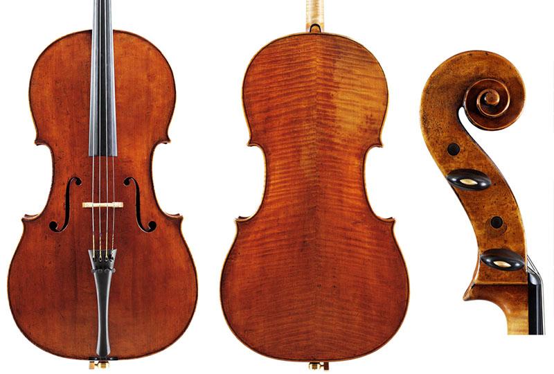 1717年'Amaryllis Fleming'斯特拉迪瓦里大提琴