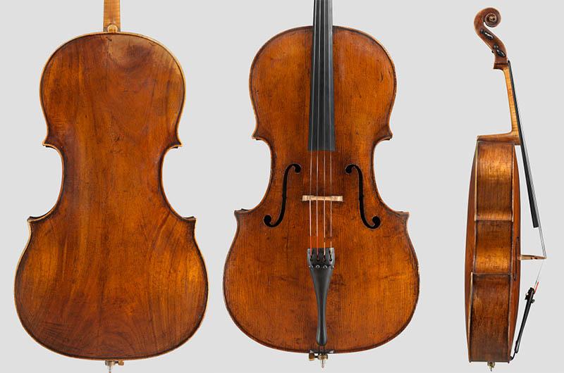 杜普雷使用过的大提琴Francesco Goffriller 1740