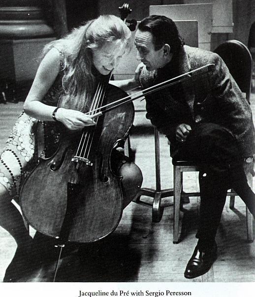 杜普雷和制琴师塞尔吉奥·佩雷松